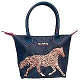Depesche 10114 - Handtasche mit Streichpailetten, Miss Melody, blau