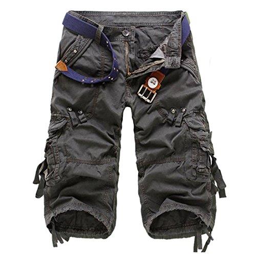 Preisvergleich Produktbild Mnner des Sommers beilufige Overalls Kampf camo Armee Arbeit Taschen Cargo-Shorts Hosen