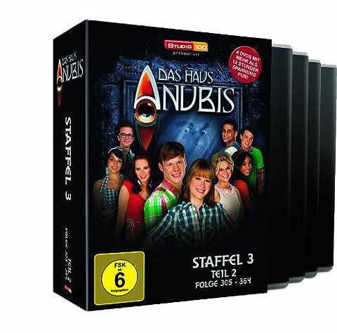 Das Haus ANUBIS - Staffel 3, Teil 2 (Folgen 305-364) [4 DVDs]