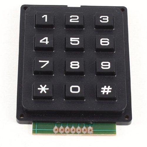 3x4 Matrix 12 Tastatur Keypad VERWENDEN SIE Keys BILD-AVR Stempel