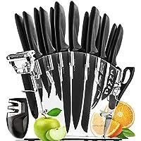 MINGFENG Utensile da Taglio Alimentare Coltello da cucina per sbucciare ananas in acciaio inossidabile da 5 pezzi