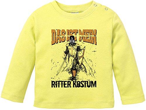(EZYshirt Das ist miein Ritter Kostüm Bio Baumwolle Baby T-Shirt Longsleeve)