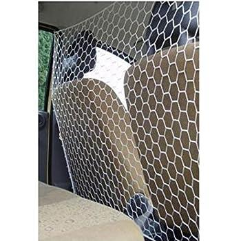 Filet Pare Chien Séparateur Auto Voiture Universel 125 x 58 cm Blanc - 565