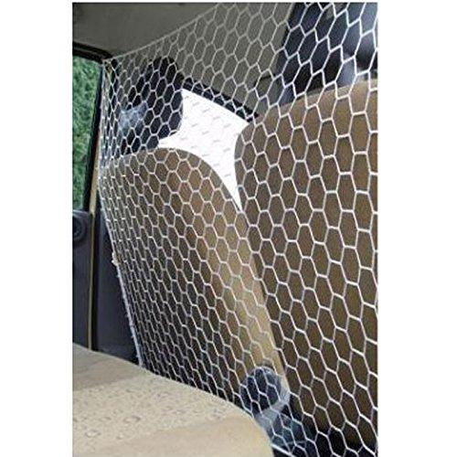 Tapalas 565 Hundegitter für das Auto, Einheitsgröße 115 x 65 cm, Weiß - 2
