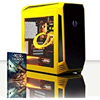 VIBOX Precision 6.58 Gaming PC Computer with War Thunder Game Voucher (4.0GHz AMD FX Quad-Core Processor, Nvidia GeForce GT 710 Graphics Card, 16GB RAM, 120GB SSD, 2TB HDD, No Operating System)