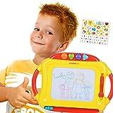 NextX Baby Zaubertafel Skizze Gekritzel Magnetische Maltafel Spielzeug mit 4 Stempel - Weihnachtsgeschenk für Kinder Weihnachtsgeschenk