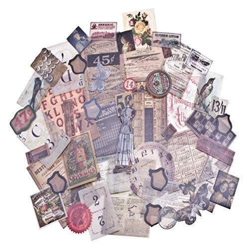 Advantus idea-Ology Pergamentpapier Ephemera Pack 5-Sparsamkeit Shop -