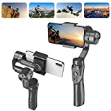 Handheld Gimbal Stabilizer for Smartphone, 3-Axis Smartphone Stabilizer for Live Video Record, Fits