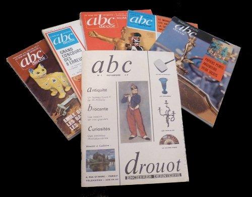 Abc (Antiquité - brocante - curiosités), série de plus de 200 numéros