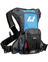 USWE Sports A3 Challenge Hydropack 201230 - Mochila de hidratación para adultos (380 x 320 x 80 cm 15 litros de capacidad) color azul y gris