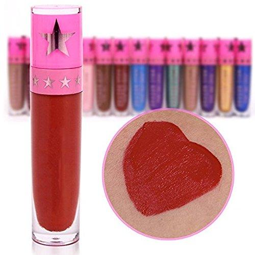 Petansy 15Pcs Makeup Set Long Lasting Waterproof Lip Gloss Set Matte Liquid Lipstick Set