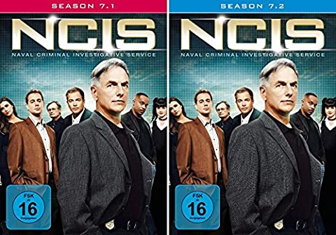 Navy CIS Staffel 07 (7.1 + 7.2) im Set - Deutsche Originalware [6 DVDs]