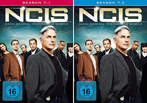 Navy CIS Staffel 07 (7.1 + 7.2) im Set - Deutsche Originalware [6 DVDs] - 4 Staffel Ncis La