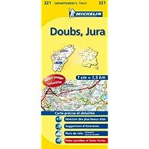 Carte Département Doubs, Jura, n° 321