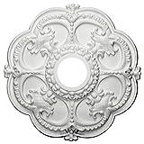 Ekena Millwork CM17RO 18-Inch OD x 3 1/2-Inch ID x 1 1/2-Inch Rotherham Ceiling Medallion by Ekena Millwork