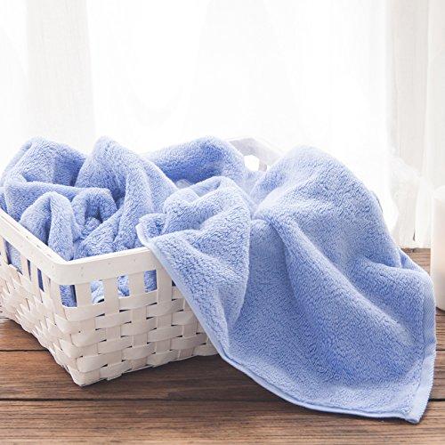 Baumwolle Frottee Baumwolle Waffel Strandtuch Badetuch Formaldehyd - Dicke große Badetücher, Mystic Purple Ruhig blau