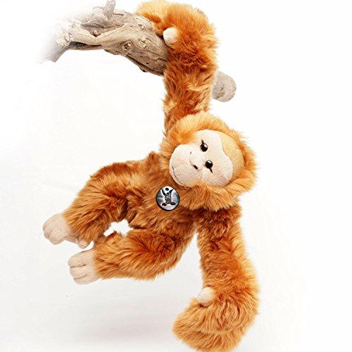 fe Menschenaffe 42 cm Schlenkeraffe Hangelaffe Acrobats Plüschtier von Kuscheltiere.biz (Orang-utan-füße)