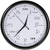 getDigital 6096 - Reloj de pared, diseño de operaciones matemáticas