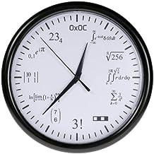 orologio con formule matematiche
