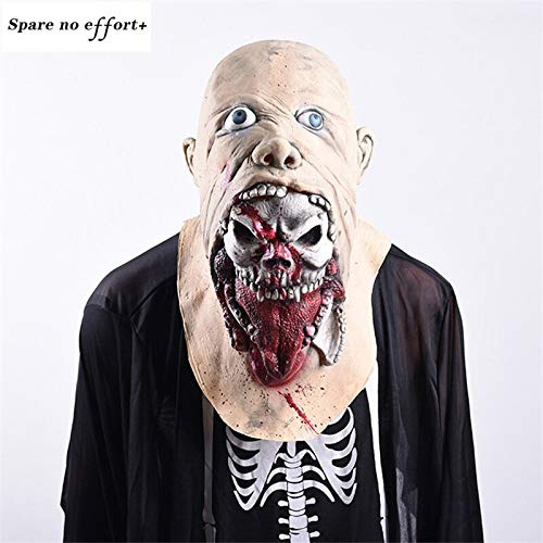 Party Stadt Kostüm Bei Mädchen - WSJDE Maske Penny Wise Horror Clown Maske Clown Maske Halloween Cosplay Kostüm Requisiten Superhelden Party Favors