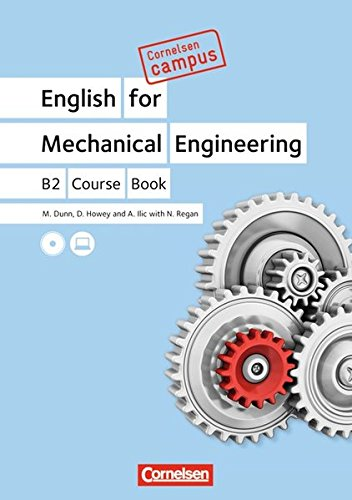 Cornelsen Campus - Englisch - English for Mechanical Engineering: B2 - Course Book with CDs
