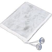 Aikesi Bolsa de Juguetes Infantil Bolsa de Almacenamiento Bolsa de Malla Bolsas Colgantes para Baño con Ventosa Size M