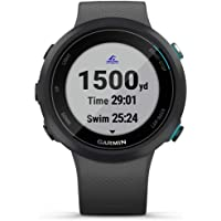 Garmin Garmin Swim 2, GPS Swimming Smartwatch for Pool and Open Water, Underwater Heart Rate, Records Distance, Pace…