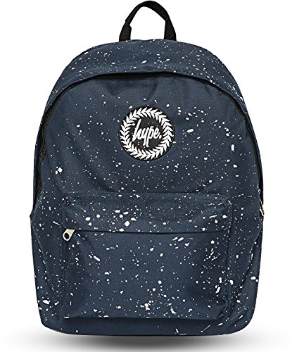 Hype Mochila | mochila moteado | color Splat Kids School Bolsas azul azul y blanco