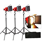 Hwamart Pro Foto Video Studio Continuous rot Head Light 800 W Video Beleuchtung 5 mcord