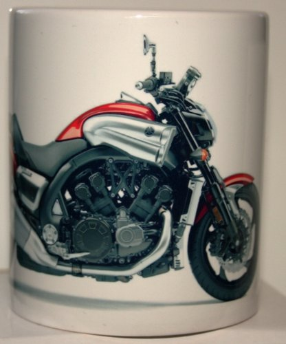 mugs-n-more-motorcycle-tazza-con-suzuki-honda-kawasaki-chopper-aprilla-yamaha-etc-2010-yamaha-v-max-