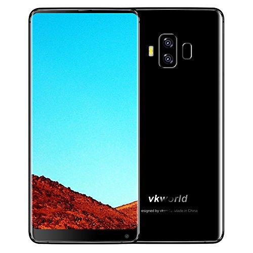 bulary VKWorld S85,99pouces FHD plein-écran 4G Smartphone 5500mAh Reconnaissance faciale Code 4GB Mémoire 64GB ROM mtk6750t huit-core Téléphone Mobile Double Caméra Téléphone