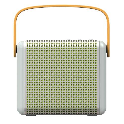 Argento BOOMAX Altoparlante portatile Bluetooth di MiPow