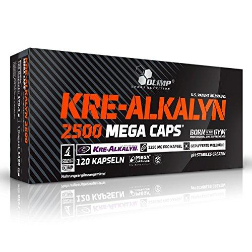 Kre-Alkalyne Mega Caps 2500 (120 Caps) Olimp