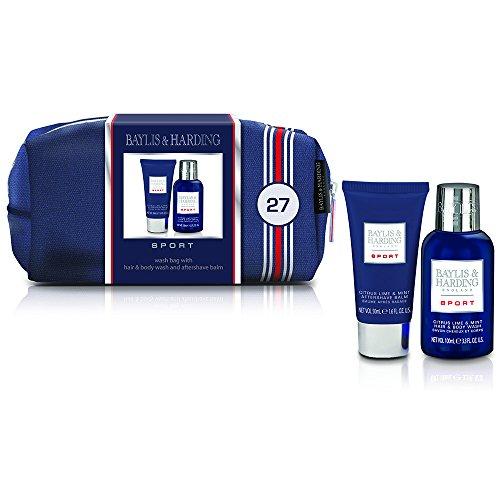 Baylis & Harding PLC Sport Men's Small Wash Bag Coffret Cadeau