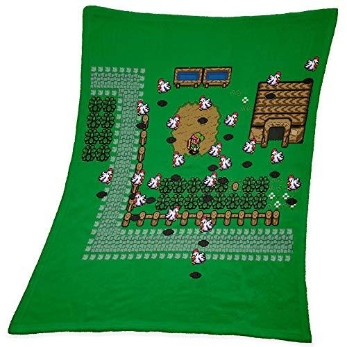 Compagno Babydecke Retro Link kuschelweich für Mädchen und Jungen 95 x 80cm Baby Geschenk Geburt Decke