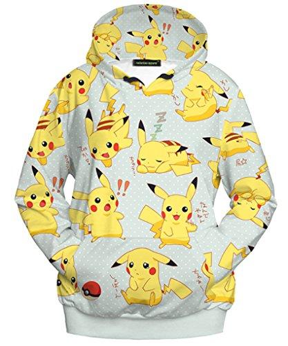 Sudadera mujer:Pikachu
