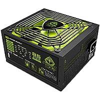 Keep Out Gaming FX900 - Fuente de alimentación de 900 W , color negro y verde