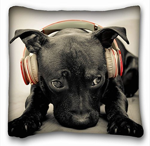 pillowcases-fashion-hot-pillow-cover-throw-pillow-case-animals-dog-dark-s-headphones-music-sadness-1