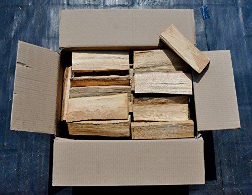 90 kilo Brennholz trocken reine Buche in 25 er Länge !!!+Muster natürliches Anzündholz/Kienspäne