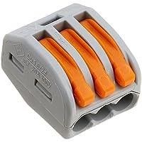 Wago 222–4133Conductor Bloque de terminales con palancas, 4mm máxima