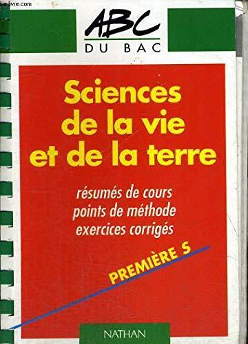 Sciences de la vie et de la terre, 1re S