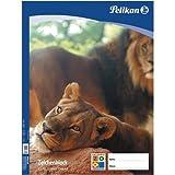 Pelikan 137604 - Zeichenblock A2, C2/10 10 Blatt, verschiedene Designs (Tiere)