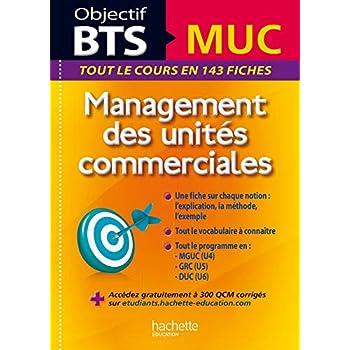 Objectif BTS - Fiches détachables - BTS MUC