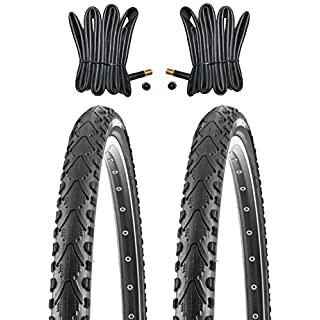 2 x Kenda MTB Reifen Fahrradreifen 24 Zoll 47-507 24 x 1.75 inklusive 2 x Schlauch mit Autoventil