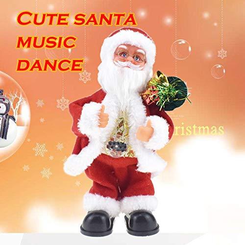 Kleinkind Mädchen Kostüm Roboter - Elektrisches Spielzeug, Chshe TM, Weihnachtsweihnachtsmann-Puppen-Elektrisches Gesang-Tanzen-Musik-Spielzeug Scherzt Neues Jahr-Geschenk
