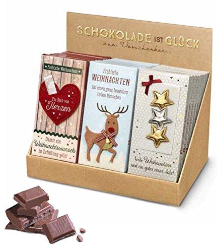 Schweizer Schokolade Weihnachten, 1 Tafel Schokolade, 100 g - 1 Tafel a.d. Sortiment -
