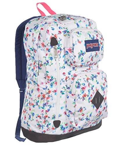 JanSport mochila Austin, multi white floral haze
