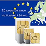 Carte Sim pr�pay�e Europe (23 pays) a...