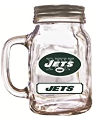 NFL New York Jets Duckhouse 20 Ounce Mason Jar