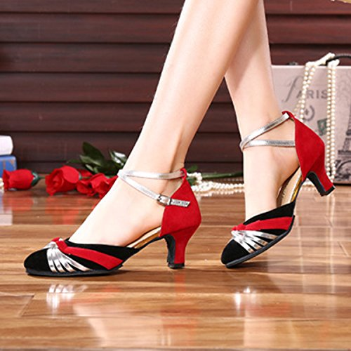 Azbro, Ballerine donna Red&silver